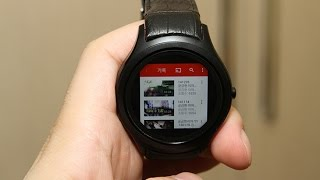 getlinkyoutube.com-K8 Mini 3G Smartwatch Phone 리뷰
