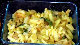 getlinkyoutube.com-How to Make Aloo Bhaji/আলু ভাজি -Bangladeshi breakfast recipe