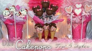 getlinkyoutube.com-DIY Cakepops: Top 5 Styles