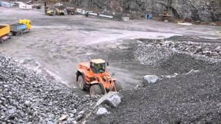 getlinkyoutube.com-Doosan DL500 loading Scania trucks