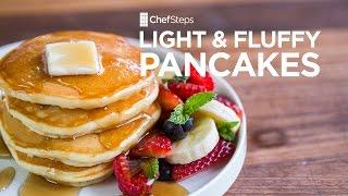 getlinkyoutube.com-Light and Fluffy Pancakes Recipe