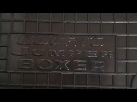 Полиуретановые коврики в салон Fiat Ducato 2006+, ... Jumper 2007+, Peugeot Boxer 2007+гг.