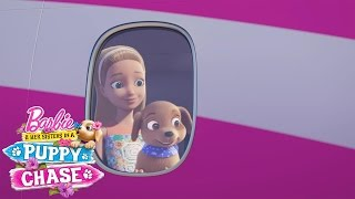 getlinkyoutube.com-Barbie™ & Her Sisters in a Puppy Chase Exclusive Sneak Peek with Hunter & Scout | Barbie