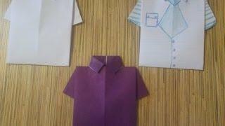getlinkyoutube.com-Открытка-рубашка мужчине своими руками День рождения 23 февраля