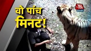 getlinkyoutube.com-Vardaat: White tiger mauls youth in Delhi zoo (PT-1)