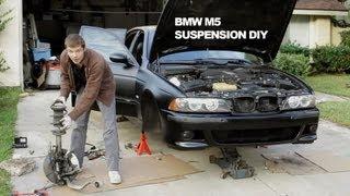 getlinkyoutube.com-Suspension DIY Repair - BMW M5 Dinan Koni Shocks & Swaybar + PowerFlex Bushings