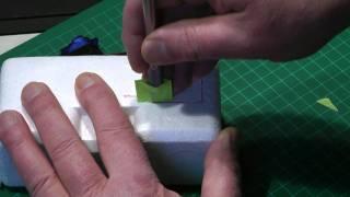 getlinkyoutube.com-How to Cut a Servo Pocket in a Foam Wing