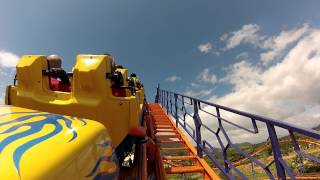 "getlinkyoutube.com-Montanha-Russa ""Star Mountain"" - 2º volta - Beto Carrero World - 21/03/2013"