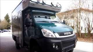 getlinkyoutube.com-4x4 bimobil overland campervan Iveco EX 345