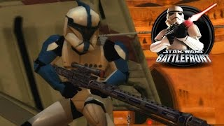 Star Wars Battlefront 1 Mods (PC) HD: Execution at Geonosis: Clone Attack