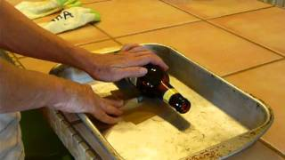 getlinkyoutube.com-Cut Glass Bottles in 3 Minutes with $3. Corte garrafa de vidro (botella de vidrio) em 3 minutos
