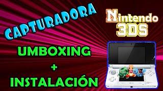 getlinkyoutube.com-Unboxing + Instalación CAPTURADORA 3DS MERKI | 3DS CAPTURE CARD Install