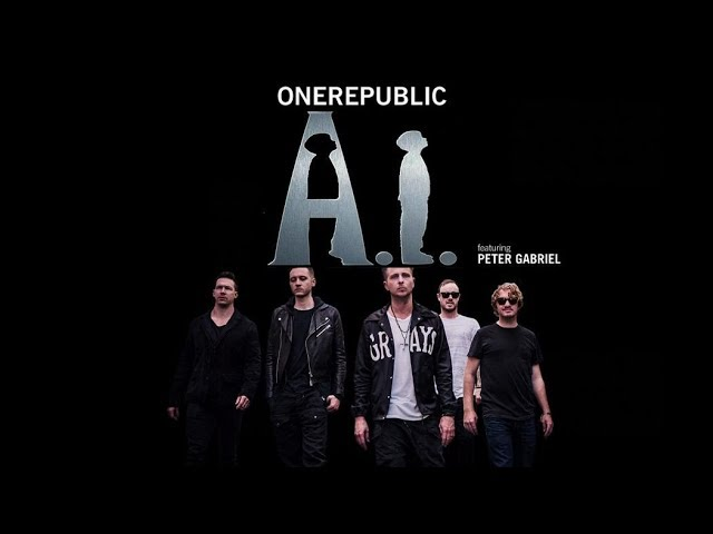 A I - ONEREPUBLIC karaoke version ( no vocal ) lyric instrumental