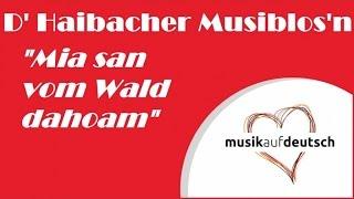 getlinkyoutube.com-D'Haibacher Musiblos'n - Mia san vom Wald dahoam