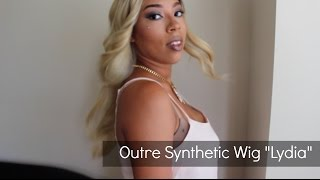 "getlinkyoutube.com-OUTRE SYNTHETIC LACE FRONT WIG ""LYDIA"" 