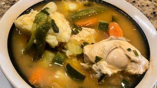 getlinkyoutube.com-Caldo De Pollo (Delicious Chicken Soup )