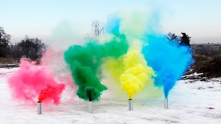 getlinkyoutube.com-HOW TO MAKE COLORED SMOKE GRENADES