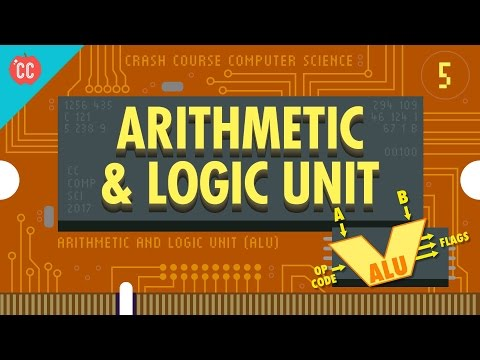How Computers Calculate - the ALU: Crash Course Computer Science #5