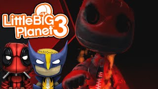 getlinkyoutube.com-Sackboy.UNZIPPED! | Little Big Planet 3 Multiplayer (28) Sackboy.Exe Creepypasta