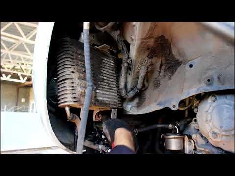 Замена клапана вариатора на радиатор  Nissan Murano Z51 Ниссан Мурано 2010 года