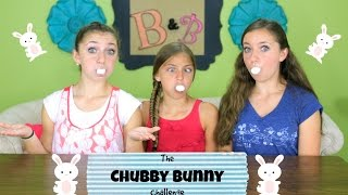 getlinkyoutube.com-Chubby Bunny Challenge | Brooklyn and Bailey