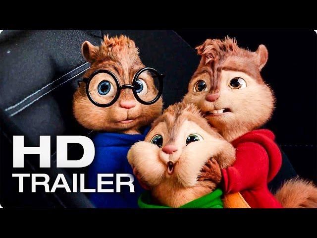 ALVIN UND DIE CHIPMUNKS 4: Road Chip Trailer 3 German Deutsch (2016)