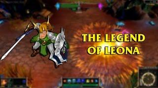 The Legend of Leona LoL Custom Skin ShowCase