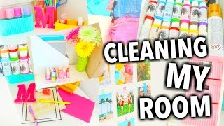 getlinkyoutube.com-Cleaning My Room & The Best Organization Tips!