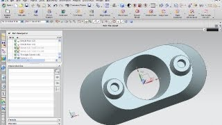getlinkyoutube.com-10.1 Sockel 1 - Siemens NX 8 Training - Mesh surface through curves