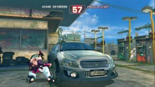 getlinkyoutube.com-【HD】SUPER STREET FIGHTER IV ボーナスステージ1onジュリ