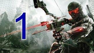 "getlinkyoutube.com-Crysis 3 Walkthrough - part 1 let's play gameplay HD PS3 XBOX PC ""Crysis 3 walkthrough part 1"""