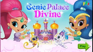 getlinkyoutube.com-Shimmer and Shine Genie palace dress up