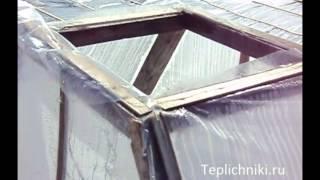 getlinkyoutube.com-Вентиляционные  устройства в теплицах