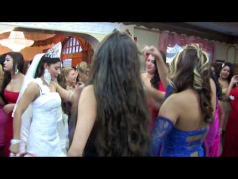 bodas gitanas en madrid FIESTA PRIMERA PARTE CRISTIAN Y CORAL