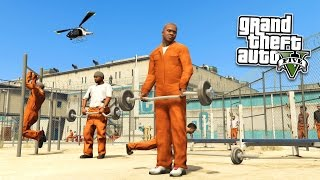 getlinkyoutube.com-GTA 5 PC Mods - PRISON MOD!!! GTA 5 Prison Break & Prison Riots Mod Gameplay! (GTA 5 Mods Gameplay)