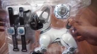 getlinkyoutube.com-Wowwee Chip Robot dog unboxing