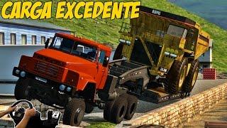 getlinkyoutube.com-CAMINHÃO FORA DE ESTRADA - ESTRADA ESTREITA - VOLANTE G27!!!