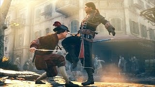 getlinkyoutube.com-Assassin's Creed Unity Rampage Stealth & Combat Ultra Settings