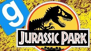 JURASSIC PARK ESCAPE! | Gmod Sandbox Funny Moments