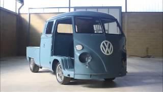 getlinkyoutube.com-Volkswagen T1 Doka (Double cab) '63- Restoration- Cal Look