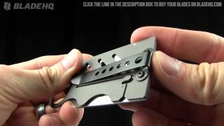 Creditor II Money Clip & Credit Card Knife Overview
