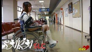 Sexy Sara leg cast SLC