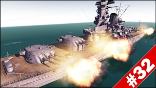 YAMATO BATTLESHIP vs 800MM GUSTAV - Men of War Assault Squad 2 - Mini Scenario #32