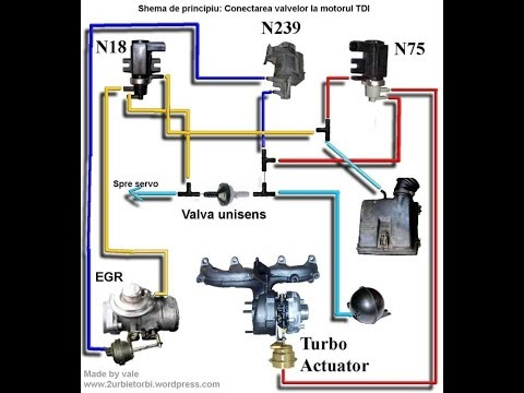 Клапан N75 где находится, как снимать, как разбирать и собирать