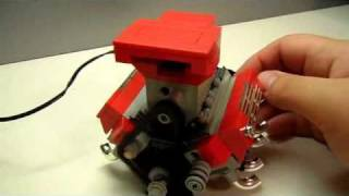 getlinkyoutube.com-LEGO Big Block V8 INSTRUCTIONS by: Legomaniacman