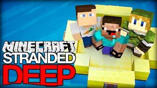 getlinkyoutube.com-Minecraft STRANDED DEEP #1 - Willkommen auf der Insel!