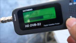 getlinkyoutube.com-SATHERO SH-100HD DVB S2 DIGITAL SATELLITE FINDER