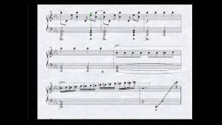 getlinkyoutube.com-ピアノ楽譜で Evans (jubeat) Piano Score