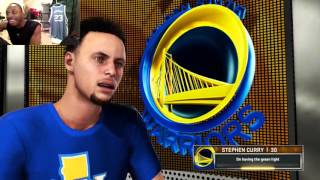 getlinkyoutube.com-Can I Recreate Stephen Curry's 40 Point Performance in the NBA Season Opener? NBA2K Gameplay