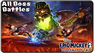 getlinkyoutube.com-Epic Mickey 2 The Power of Two All Bosses